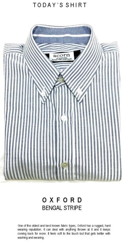 Oxford Striped shirts