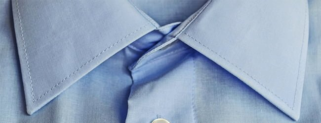 lightweight light blue shirt fabric