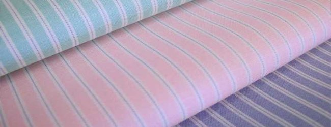 striped Batiste fabric