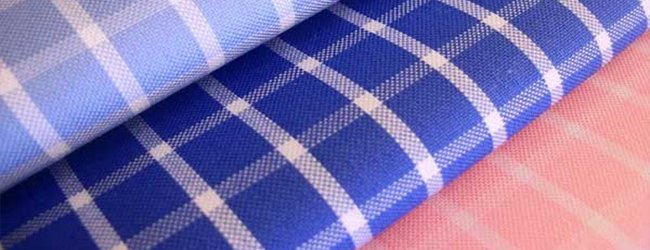 checked pinpoint fabrics