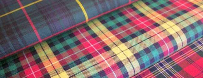 tartan cotton fabrics