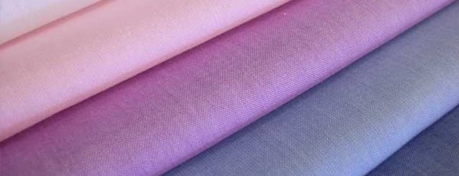 different shades of batiste fabric