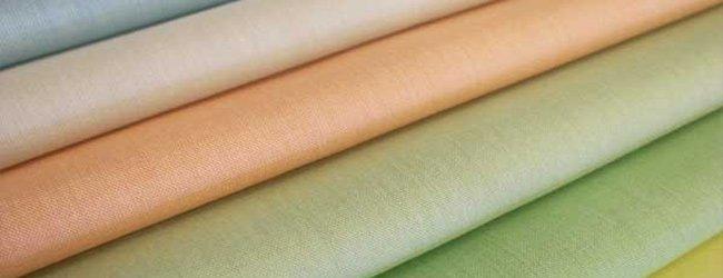 light pale shades of batiste fabric