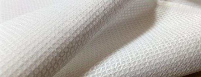 white pique fabric