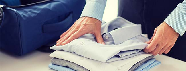how to pack shirts for the summer holidays feature image