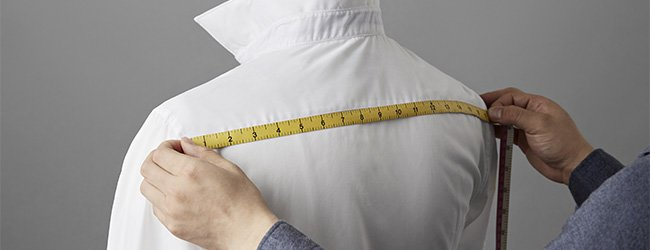 how to measure your body for a bespoke shirt feature image