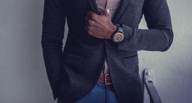 sprezzatura blue suit
