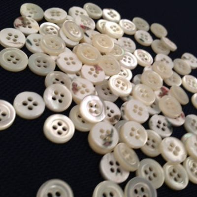 x14 line Trocas shell buttons