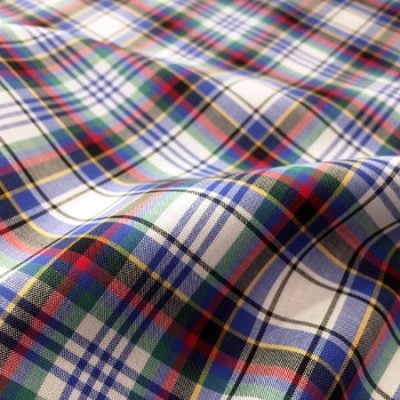 Hampton 115 Blue Check Fabric