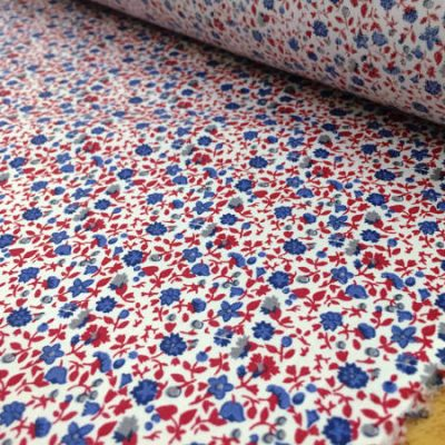 Hampton 308 red printed fabric