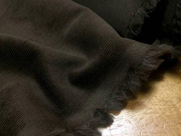 Haworth olive babycord fabric