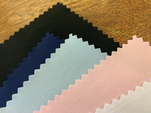 Jubilee new blue stretch solid fabric