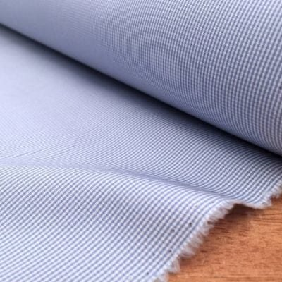 King AC8 sky check fabric