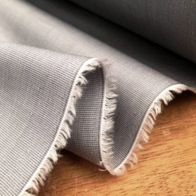 King EE grey solid fabric