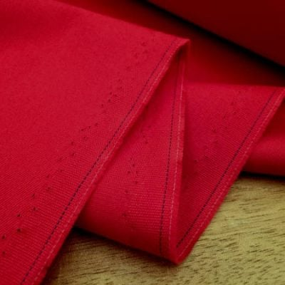 Kingston red fabric
