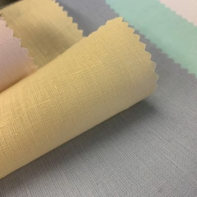 Linen Plain Cream Fabric