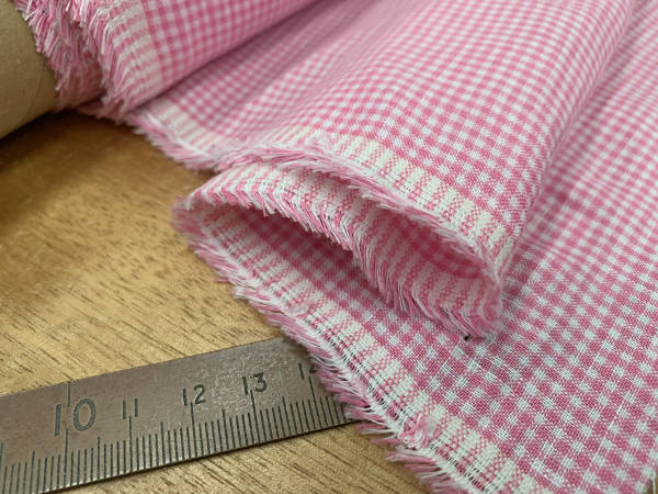 Linen 17 pink Linen Fabric | Buy Online | Acorn Fabrics UK