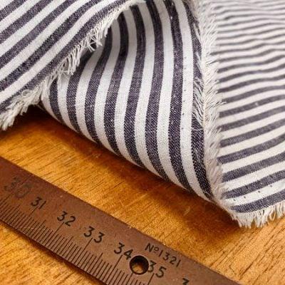 Linen 08 navy Linen Fabric