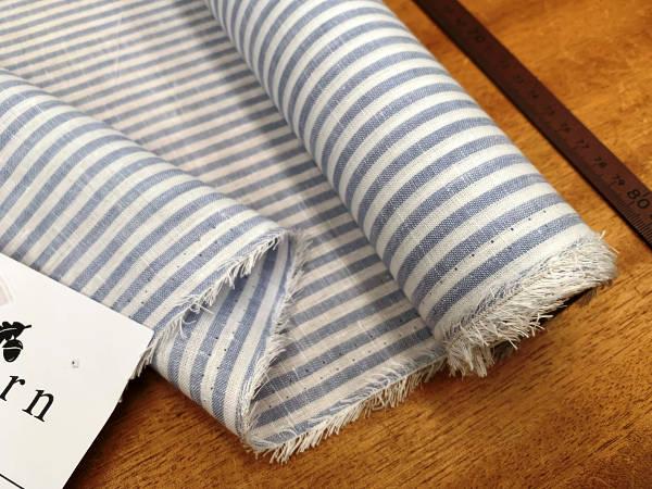 Linen 08 sky Linen Fabric | Buy Online | Acorn Fabrics UK