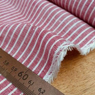 Linen 09 coral Linen Fabric
