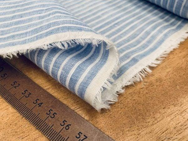 Linen 09 sky Linen Fabric
