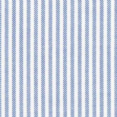 Oxford Ivy Navy Striped Fabric