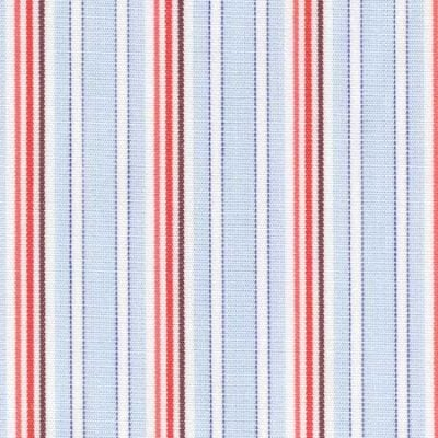 Regent 60 Orange Striped Fabric