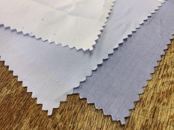 Royal Pinpoint iris fabric