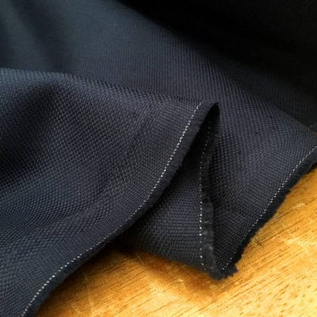 Royal oxford midnight solid fabric