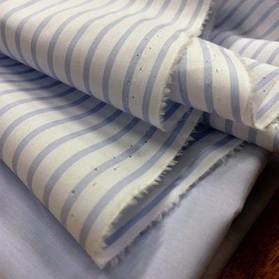 Windsor WE Sky Striped Fabric