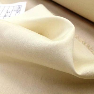 Windsor cream solid fabric