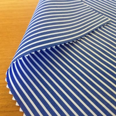 Windsor GB Navy Striped Fabric
