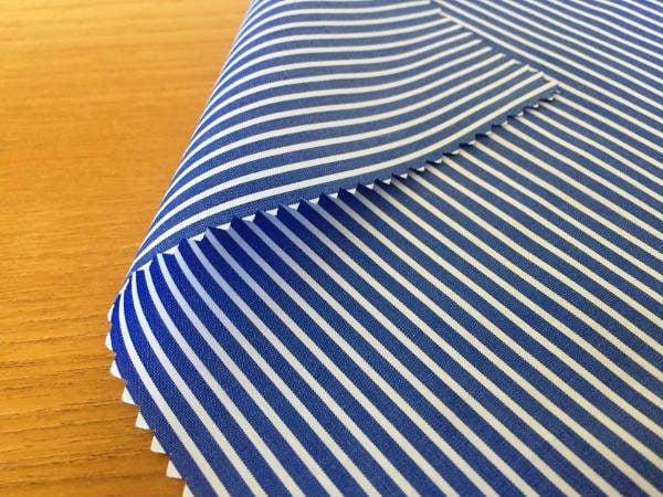 Windsor GB Navy Striped Fabric