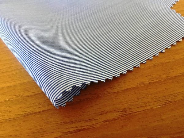Windsor GE Navy Striped Fabric