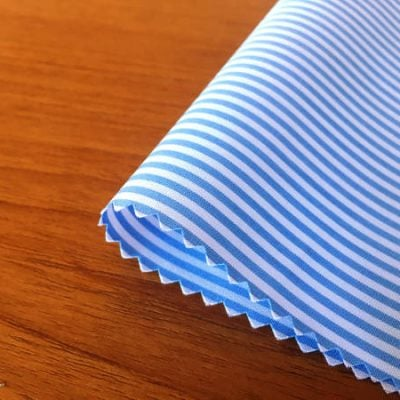 Windsor GF Sky Striped Fabric