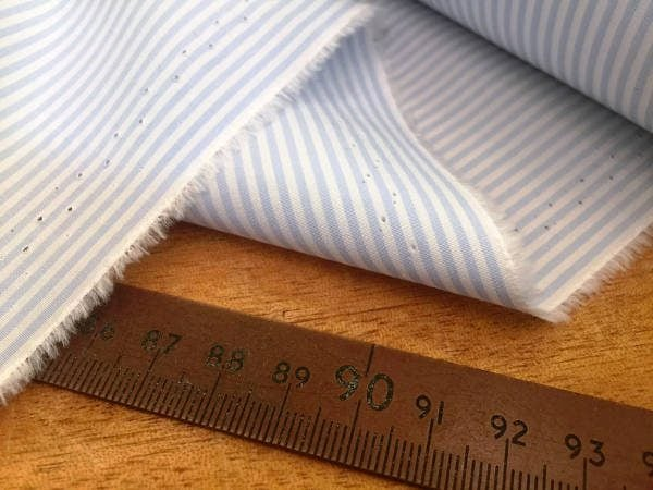 Windsor WA Sky Striped Fabric