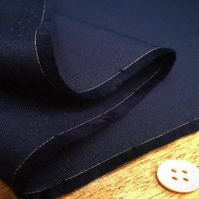 Kingston navy fabric