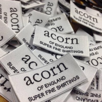x Acorn sewing label