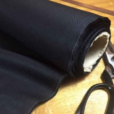 Malham 60 black fabric