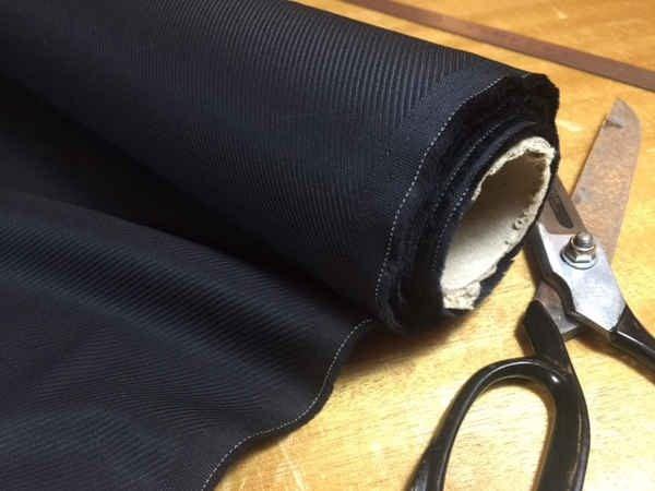 Malham 60 black fabric