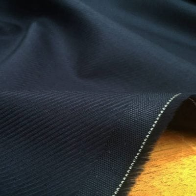 Malham 60 navy fabric