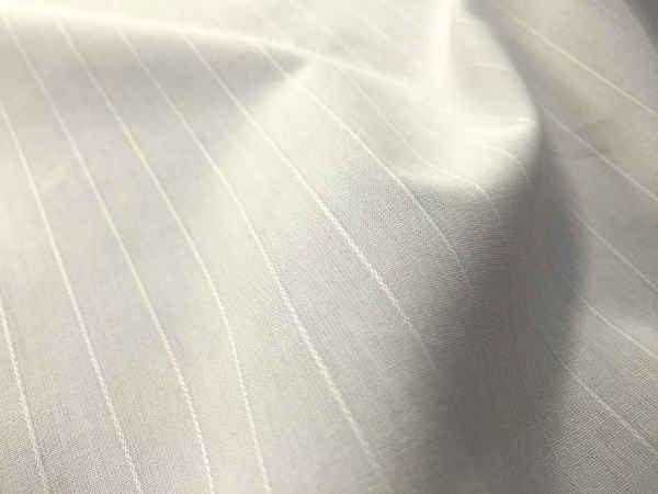 Malham 80 white dobbie fabric