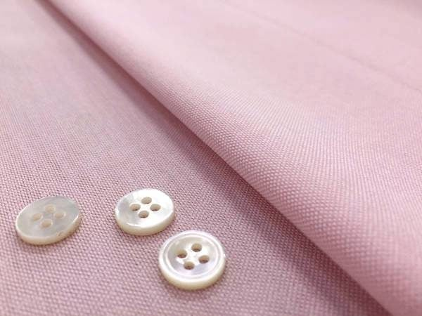 Oxford plain pink fabric