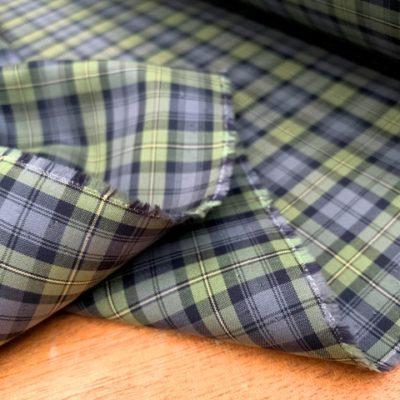 Gordon Tartan Fabric (green)