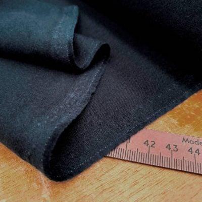 Bronte navy moleskin fabric