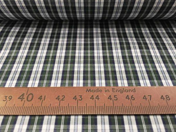 Hampton 113 green check fabric
