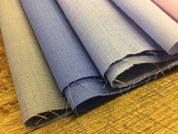 King EE french blue solid fabric