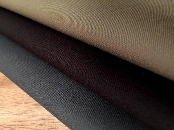 Kingston khaki heavy twill fabric
