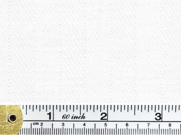Balmoral 230 white herringbone fabric
