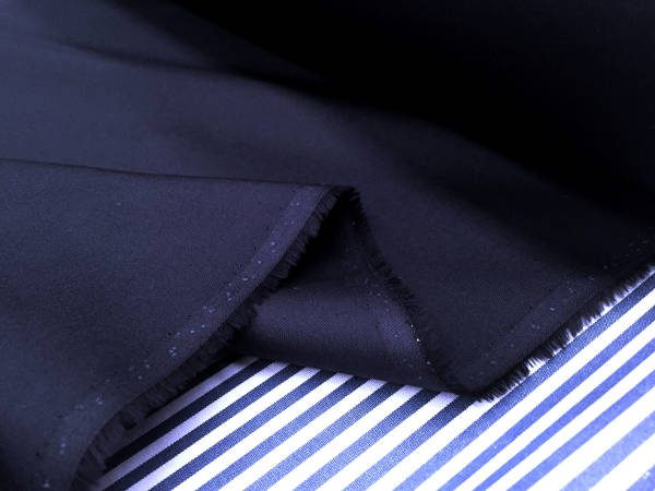 Monarch plain navy solid fabric